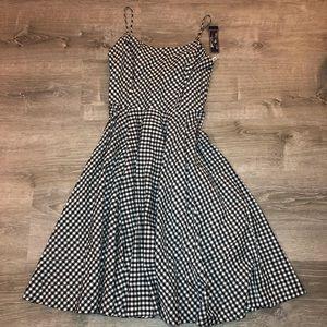NWT American living gingham summer dress